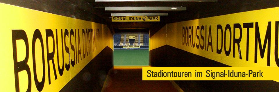 Borussia Dortmund Stadion Tour Tickets